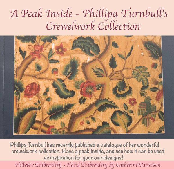 A Peak inside Phillipa Turnbull's crewelwork collection - a book review